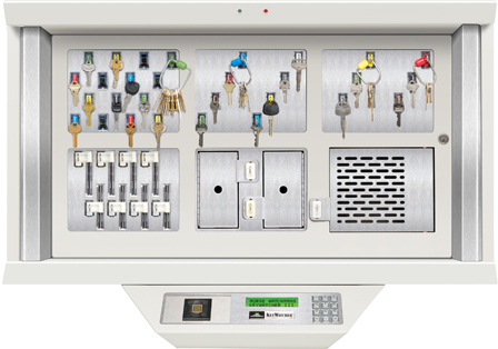 electronic key management cabinet